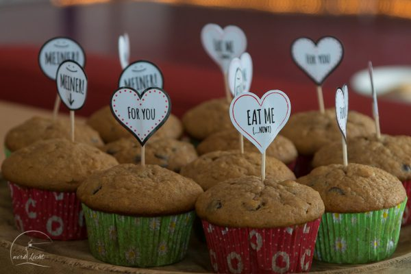 Muffin-Geburtstagscatering